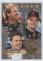 Rusty Wallace, Mike Wallace, Kenny Wallace