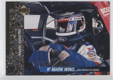 1995 Upper Deck Prize Predictor Winston Cup Race Contest #P2 - Mark Martin