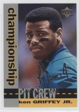 1995 Upper Deck Silver Signatures/Electric Silver #136 - Ken Griffey Jr.