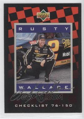 1995 Upper Deck Silver Signatures/Electric Silver #150 - Rusty Wallace