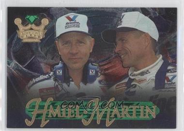 1996 Crown Jewels Elite - [Base] - Emerald #53 - Mark Martin, Steve Hmiel /599
