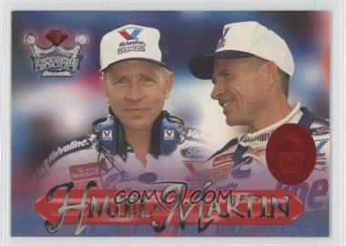 1996 Crown Jewels Elite - [Base] - Ruby Treasure Chest #53 - Mark Martin