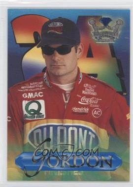 1996 Crown Jewels Elite Retail Blue #2 - Jeff Gordon