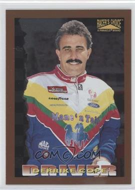 1996 Pinnacle Racer's Choice - [Base] - Speedway Collection Artist's Proof #19 - Derrike Cope