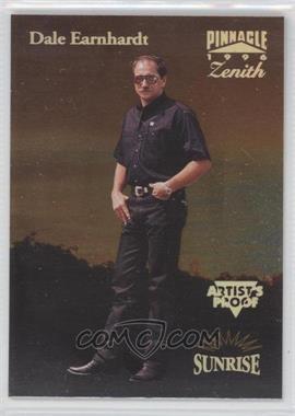 1996 Pinnacle Zenith - [Base] - Artist's Proof #50 - Dale Earnhardt