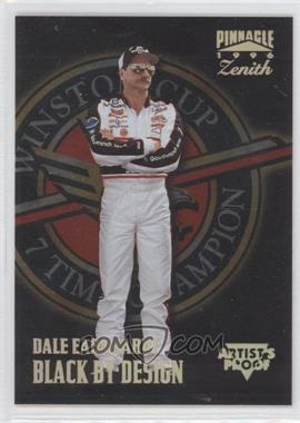 1996 Pinnacle Zenith Artist's Proof #66 - Dale Earnhardt
