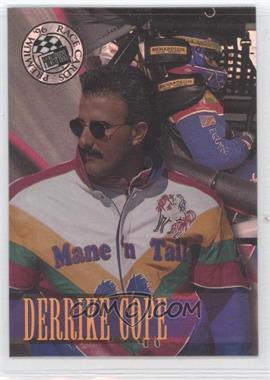 1996 Press Pass Premium - [Base] - Holofoil #15 - Derrike Cope