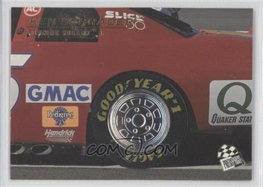 1996 Press Pass Premium Burning Rubber #BR4 - Ken Schrader /500