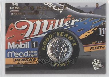 1996 Press Pass Premium Burning Rubber #BR6 - Rusty Wallace /500