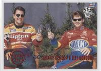 Johnny Benson, Jeff Gordon