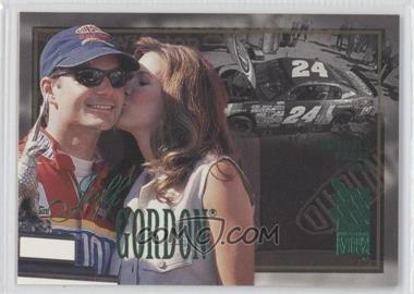 1996 Press Pass VIP - [Base] - Emerald Proof #10 - Jeff Gordon /380