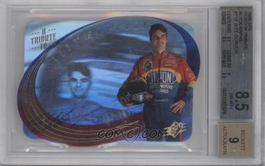 1996 SPx A Tribute to Jeff Gordon [Autographed] #T1 - Jeff Gordon [BGS 8.5]