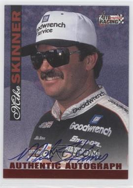 1996 Score Board Autographed Racing Autographs #N/A - Mike Skinner