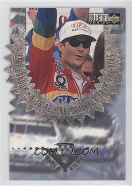 1996 Upper Deck Collector's Choice [???] #3-G - Jeff Gordon