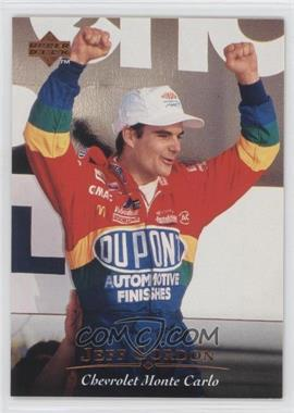 1996 Upper Deck #22 - Jeff Gordon