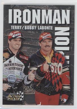 1997 Pinnacle Action Packed - Ironman Champion #2 - Bobby Labonte, Terry Labonte