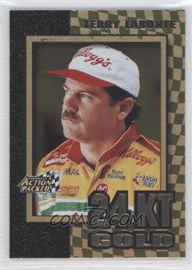1997 Pinnacle Action Packed 24 Karat Gold #5 - Terry Labonte
