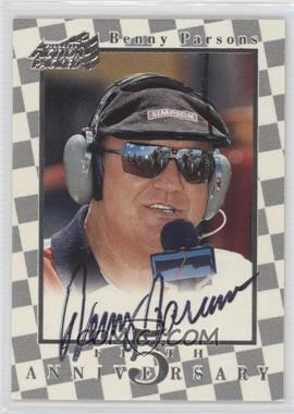 1997 Pinnacle Action Packed 5th Anniversary Autographs [Autographed] #FA5 - Benny Parsons