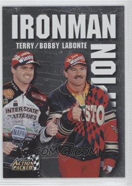 1997 Pinnacle Action Packed Ironman Champion #2 - Bobby Labonte, Terry Labonte