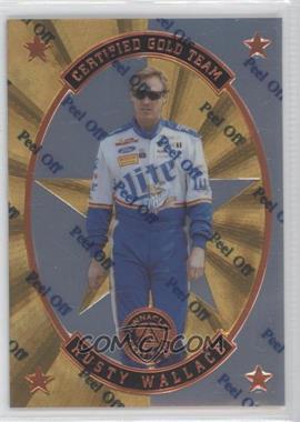 1997 Pinnacle Certified - Certified Team - Mirror Gold #6 - Rusty Wallace
