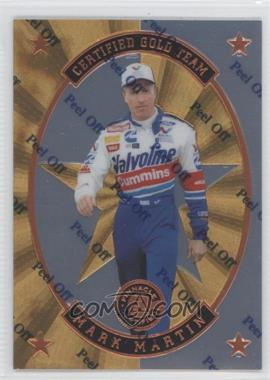 1997 Pinnacle Certified - Certified Team - Mirror Gold #7 - Mark Martin