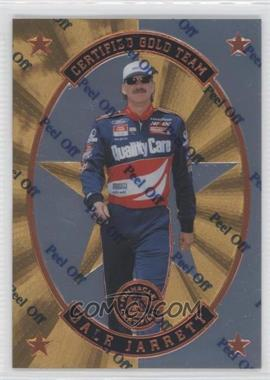 1997 Pinnacle Certified Certified Team Mirror Gold #9 - Dale Jarrett