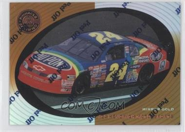 1997 Pinnacle Certified Mirror Gold #58 - Jeff Gordon