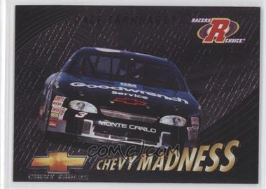 1997 Pinnacle Racers Choice - Chevy Madness #8 - Dale Earnhardt