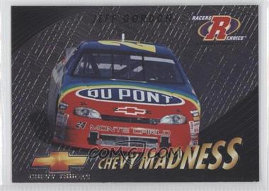 1997 Pinnacle Racers Choice Chevy Madness #7 - Jeff Gordon