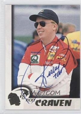 1997 Press Pass [???] #16 - Ricky Craven