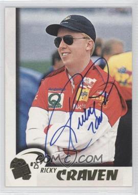 1997 Press Pass Autographs #16 - Ricky Craven