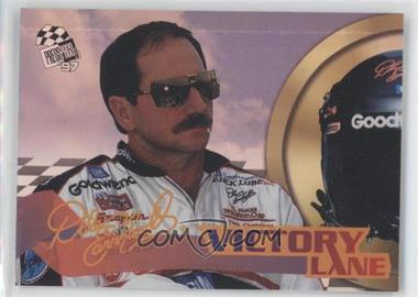 1997 Press Pass Victory Lane #1A - Dale Earnhardt