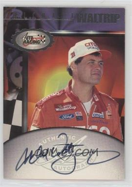 1997 Score Board Autographed Racing - Autographs #MIWA - Michael Waltrip
