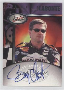 1997 Score Board Autographed Racing Autographs #BOLA - Bobby Labonte