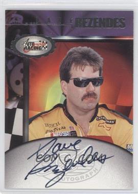 1997 Score Board Autographed Racing Autographs #DARE - Dave Rezendes