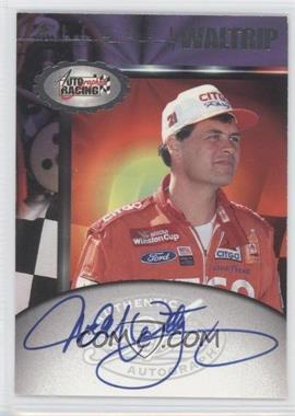 1997 Score Board Autographed Racing Autographs #MIWA - Michael Waltrip