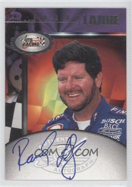 1997 Score Board Autographed Racing Autographs #RALA - Randy LaJoie