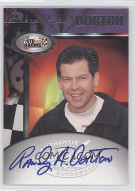 1997 Score Board Autographs #N/A - Randy Dorton