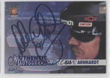 1997 Score Board SB Autographs #N/A - Dale Earnhardt /500