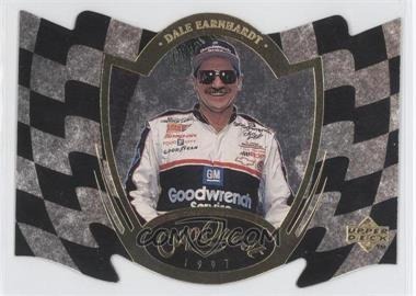 1997 Upper Deck Road to the Cup - Cup Quest - Checkered Flag #CQ3 - Dale Earnhardt /100