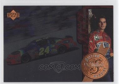 1997 Upper Deck Road to the Cup - Million Dollar Memoirs #MM5 - Jeff Gordon