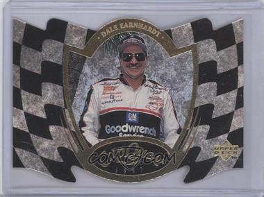 1997 Upper Deck Road to the Cup Cup Quest Checkered Flag #CQ3 - Dale Earnhardt /100