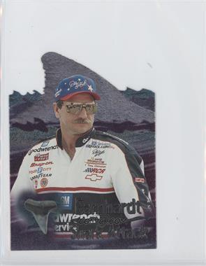 1997 Wheels Race Sharks - Shark Attack - Previews #SA1 - Dale Earnhardt /999