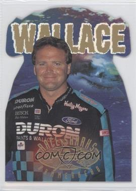1997 Wheels Race Sharks Hammerheads Die-Cut #13 - Mike Wallace