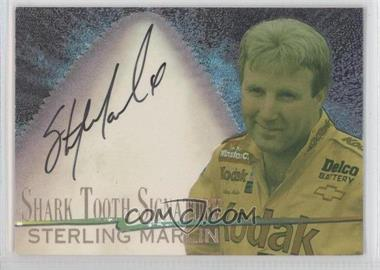 1997 Wheels Race Sharks Shark Tooth Signatures #5 - Sterling Marlin /600