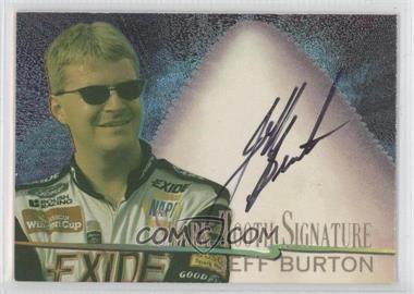 1997 Wheels Race Sharks Shark Tooth Signatures #9 - Jeff Burton