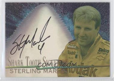 1997 Wheels Race Sharks Shark Tooth Signatures #ST5 - Sterling Marlin /600