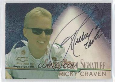 1997 Wheels Race Sharks Shark Tooth Signatures #ST7 - Ricky Craven /800