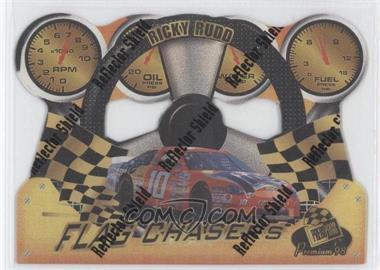 1998 Press Pass Premium - Flag Chasers - Reflectors #FC 22 - Ricky Rudd