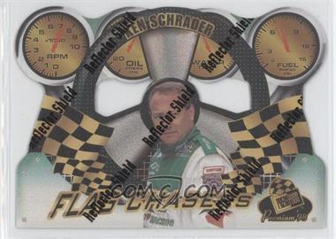 1998 Press Pass Premium Flag Chasers Reflectors #FC 14 - Ken Schrader